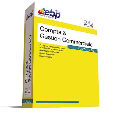 EBP Compta et Gestion Commerciale Classic 2015 Logiciel comptablité et de gestion commerciale (français, WINDOWS)