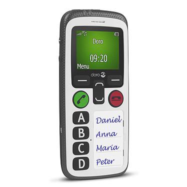 Doro Secure 580 IUP Noir/Blanc