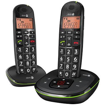 Doro PhoneEasy 105wr Duo Noir Téléphone DECT sans fil (version française)