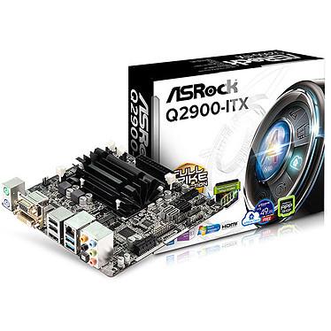 ASRock Q2900-ITX Carte mère Mini ITX avec Processeur Intel Pentium J2900  - 2 x SATA 6 Gb/s - 2 x SATA 3 Gb/s - USB 3.0