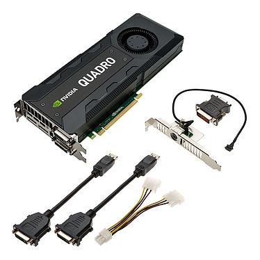 PNY Quadro K5200 8 Go Dual DVI/Dual DisplayPort - PCI Express (NVIDIA Quadro K5200)