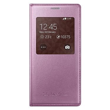 Samsung S-View Rose Samsung Galaxy S5 mini Etui folio pour Samsung Galaxy S5 mini