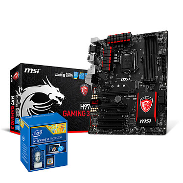 Kit Upgrade PC Core i5 MSI GAMING H97 4 Go