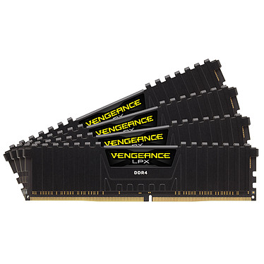 Corsair Vengeance LPX Series Low Profile 64 Go (4x 16 Go) DDR4 3200 MHz CL16
