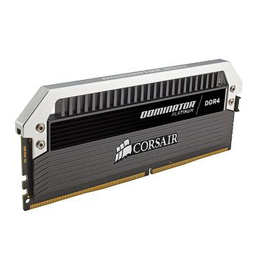 Avis Corsair Dominator Platinum 64 Go (4x 16 Go) DDR4 3000 MHz CL15