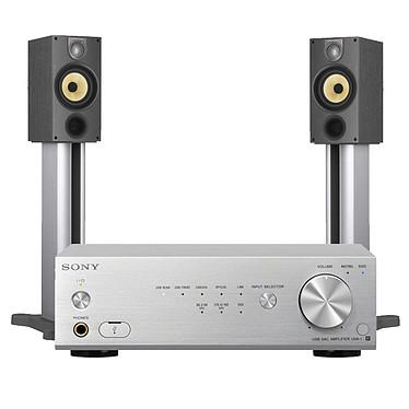 Sony UDA1S + B&W 686 S2 Black Ash