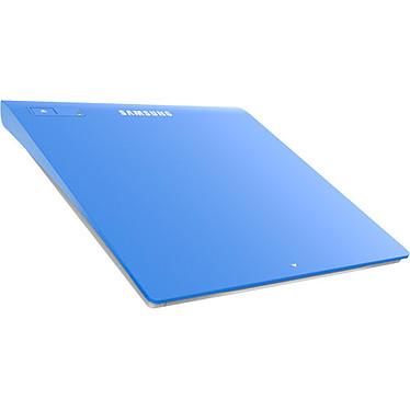 Samsung SE-208GB Bleu Graveur DVD(+/-)RW/RAM 8/8/8/6/5x DL(+/-) 6/6x CD-RW 24/24/24x Bleu Externe Slim - USB 2.0