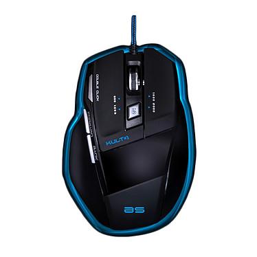 Bluestork KULT#1 Souris filaire pour gamer - droitier - capteur optique 2000 dpi - 7 boutons