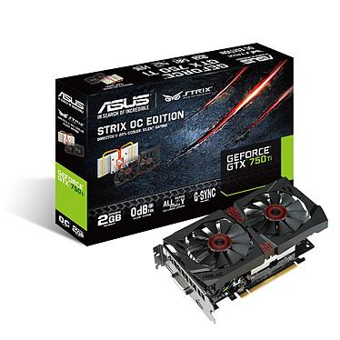 ASUS STRIX-GTX750TI-OC-2GD5 - GeForce GTX 750 Ti 2 Go