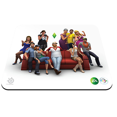 SteelSeries The Sims 4 Gaming Mousepad Tapis de souris pour gamer