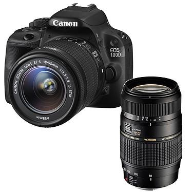 Canon EOS 100D + EF-S 18-55mm f/3,5-5,6 IS STM + Tamron AF 70-300mm F/4-5,6 Di LD MACRO 1:2