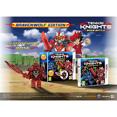 Tenkai Knights : Brave Battle - Bravenwolf Edition (Nintendo 3DS/2DS)