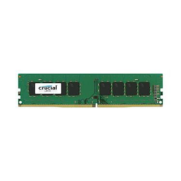 Crucial DDR4 16 Go 2400 MHz CL17 DR X8 RAM DDR4 PC4-19200 - CT16G4DFD824A