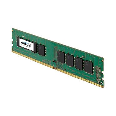 Avis Crucial DDR4 8 Go (2 x 4 Go) 2400 MHz CL17 SR X8