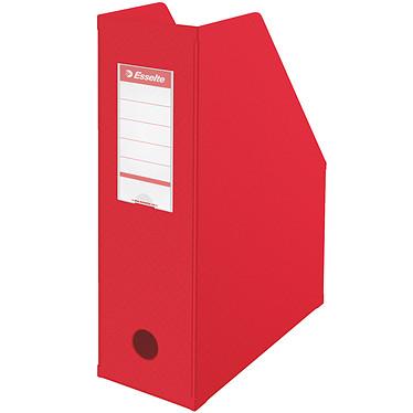 Esselte Lot de 10 porte-revues dos de 10 cm Rouge Lot de 10 porte-revues dos de 10 cm Rouge
