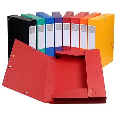 Avis Exacompta boites de classement Cartobox dos 60 mm Assortis x 10