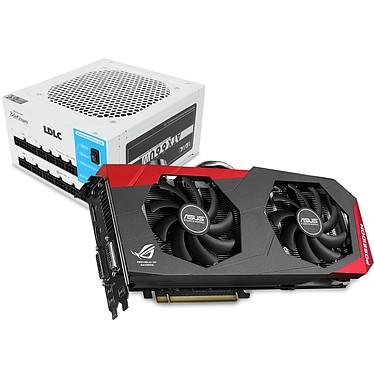 ASUS ROG POSEIDON-GTX780-P-3GD5 - GeForce GTX 780 3 Go + LDLC BQ-660+ Quality Select 80PLUS Platinum