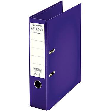 Esselte Classeur à levier Chromos Plus 80mm Violet