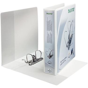Leitz Classeur à Levier Panorama 180° Dos 50 mm personnalisable Classeur à Levier Panorama 180° 2 Anneaux Dos 50 mm personnalisable Blanc