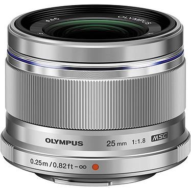 Olympus M.ZUIKO DIGITAL ED 25 mm 1:1.8 Argent