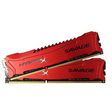 HyperX Savage 16 Go (2 x 8 Go) DDR3 2400 MHz XMP CL11 Kit Dual Channel RAM DDR3 PC19200 - HX324C11SRK2/16 (garantie à vie par Kingston)