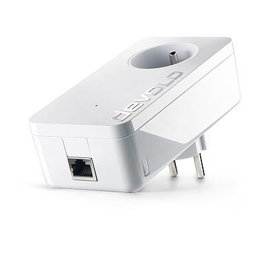 Devolo dLAN 1200+ Adaptateur CPL 1200 Mbps avec 1 port Gigabit Ethernet et prise électrique