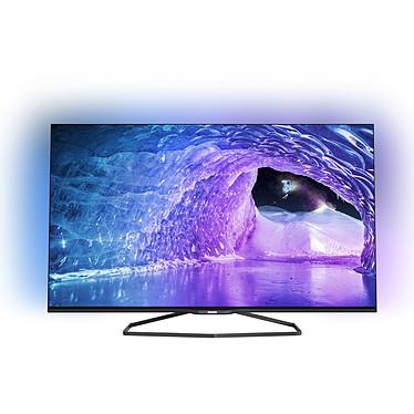 """Philips 55PFK7509 Téléviseur LED 3D Full HD 55"""" (140 cm) 16/9 - 1920 x 1080 pixels - TNT, Câble et Satellite HD - Wi-Fi - DLNA - HDTV 1080p - 800 hertz - 4 paires de lunettes 3D"""