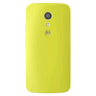 Motorola Coque d'origine Vert Lime Motorola Moto G 2ème Génération Coque arrière d'origine pour Motorola Moto G 2ème Génération