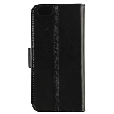 xqisit Etui Wallet Eman Noir Apple iPhone 6/6s pas cher