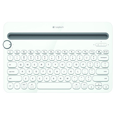 Logitech Multi-Device Keyboard K480 Blanc