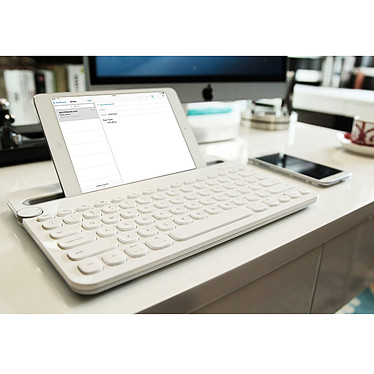 Logitech Multi-Device Keyboard K480 Blanc pas cher