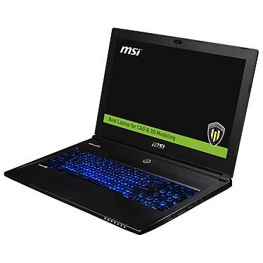 "MSI WS60 2OJ-091FR Intel Core i7-4710HQ 8 Go SSD 128 Go + HDD 1 To 15.6"" LED Full HD NVIDIA Quadro K2100M Wi-Fi AC/Bluetooth Webcam Windows 7 Pro 64 bits (garantie constructeur 3 ans)"