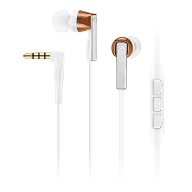 Sennheiser CX 5.00i Blanc Ecouteurs intra-auriculaire - compatible iPhone/iPad/iPod