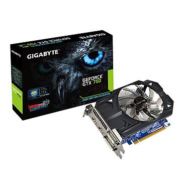 Gigabyte GV-N750OC-2GI - GeForce GTX 750 2 Go