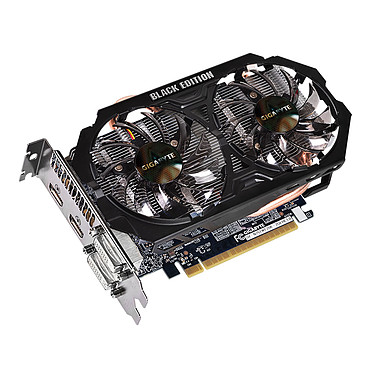 Avis Gigabyte GV-N75TWF2BK-2GI - GeForce GTX 750 Ti 2 Go Black Edition