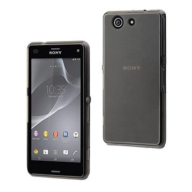 Made for Xperia Housse Minigel Smoke Foncé pour Sony Xperia Z3 Compact