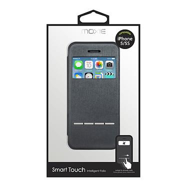 Acheter Moxie Folio Smart Touch Gris pour iPhone 5/5s