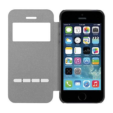 Avis Moxie Folio Smart Touch Gris pour iPhone 5/5s