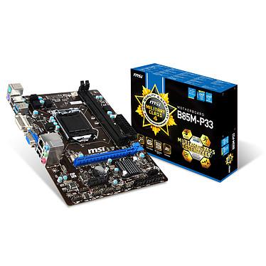 Avis Kit Upgrade PC Core i3 MSI B85M-P33 4 Go