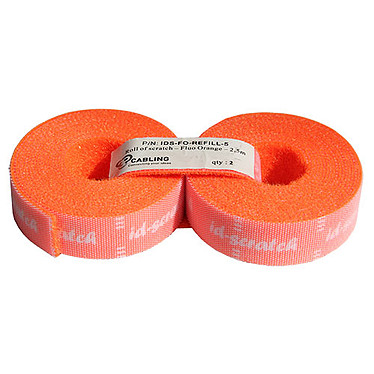 PatchSee id scratch (lot de 2 rouleaux de 2.5 mètres) - orange