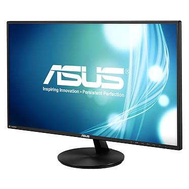 """ASUS 27"""" LED - VN279Q 1920 x 1080 pixels - 5 ms (gris à gris) - Format large 16/9 - Dalle AMVA+ - HDMI - Noir (garantie constructeur 3 ans)"""