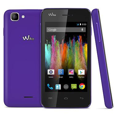 "Wiko Kite Violet Smartphone 4G-LTE - ARM Cortex-A9 Dual-Core 1.2 GHz - RAM 1 Go - Ecran tactile 4"" 400 x 800 - 4 Go - Bluetooth 4.0 - 1800 mAh - Android 4.4"