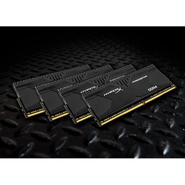 Acheter HyperX Predator Noir 32 Go (4x 8 Go) DDR4 3000 MHz CL15