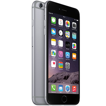 "Apple iPhone 6 Plus 64 Go Gris Sidéral Smartphone 4G-LTE - Apple A8 Dual-Core 1.4 GHz - RAM 1 Go - Ecran Retina 5.5"" 1080 x 1920 - 64 Go - NFC/Bluetooth 4 - 2915 mAh - iOS 8"
