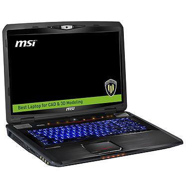 "MSI WT70 2OK-2288FR Intel Core i7-4810MQ 16 Go SSD 128 Go + HDD 1 To 17.3"" LED Full HD NVIDIA Quadro K3100M Graveur DVD Wi-Fi AC/Bluetooth Webcam Windows 7 Pro 64 bits (garantie constructeur 3 ans)"