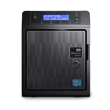 WD Sentinel DS6100 8 To (2 x 4 To) Serveur de stockage ultra compact sous Windows 2012 R2 Essentials