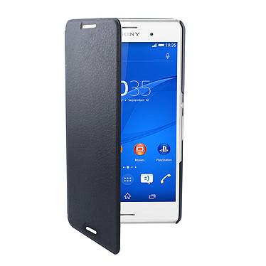 Swiss Charger Etui Folio Slim Noir Sony Xperia Z3 Etui de protection pour Sony Xperia Z3