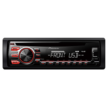 Pioneer DEH-1700UB Autoradio CD / USB compatible avec smartphone Android