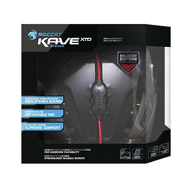 ROCCAT Kave XTD Stereo Military (Naval Storm) pas cher