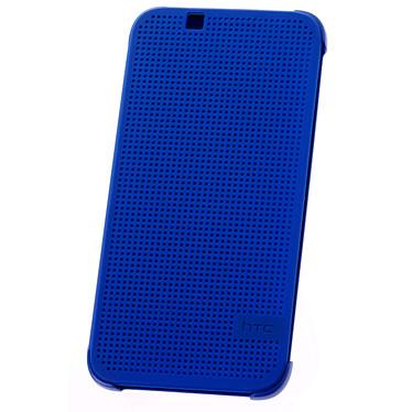 HTC Etui Folio Dot View Bleu HTC Desire 510